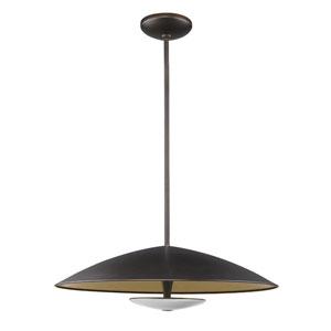 Aurora Oil Rubbed Bronze LED Pendant