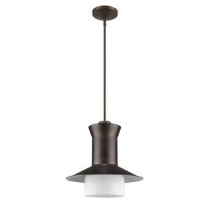 Greta Oil Rubbed Bronze One-Light Pendant