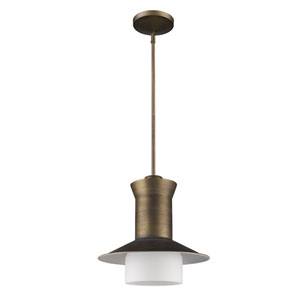 Greta Raw Brass One-Light Pendant