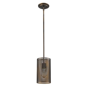 Loft Oil Rubbed Bronze Six-Inch One-Light Mini Pendant