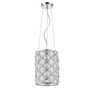 Isabella Polished Nickel One-Light Mini Pendant