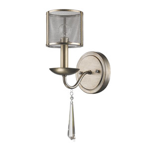 Rita Washed Gold One-Light Wall Sconce