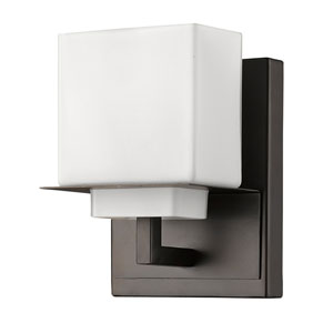 Rampart Oil Rubbed Bronze One-Light Bath Sconce
