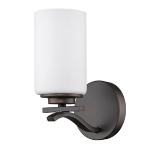 Poydras Oil Rubbed Bronze One-Light Bath Sconce