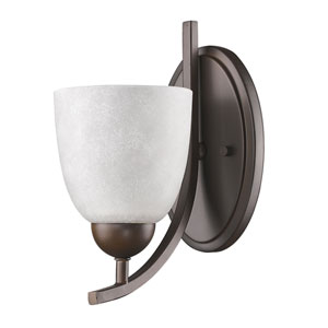 Toulouse Oil Rubbed Bronze One-Light Bath Sconce