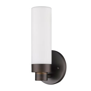 Valmont Oil Rubbed Bronze One-Light Bath Sconce