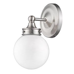 Fairfax Satin Nickel 6-Inch One-Light Vanity