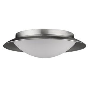 Aurora Satin Nickel LED Flushmount