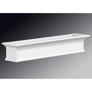 Yorkshire White 60-Inch Window Box