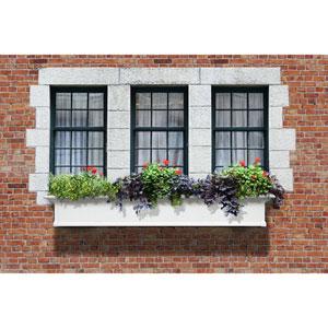 Yorkshire White 72-Inch Window Box