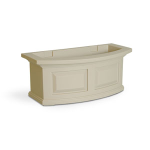 Nantucket Clay 24-Inch Window Box