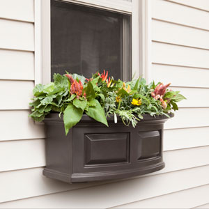 Nantucket Espresso 24-Inch Window Box