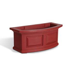 Nantucket Red 24-Inch Window Box