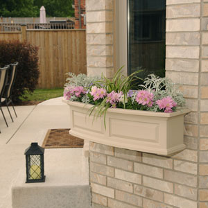 Nantucket Clay 36-Inch Window Box