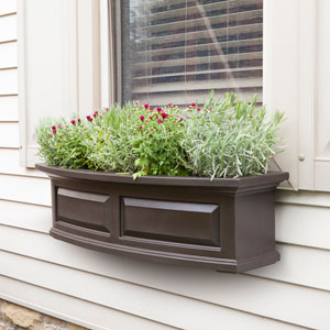 Nantucket Espresso 36-Inch Window Box