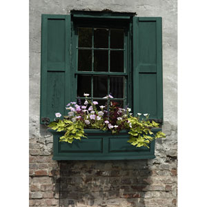Nantucket Green 36-Inch Window Box