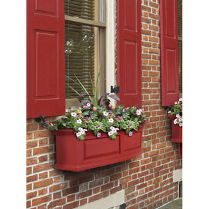 Nantucket Red 36-Inch Window Box