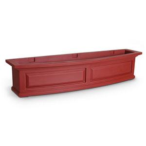 Nantucket Red 48-Inch Window Box