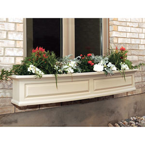 Nantucket Clay 60-Inch Window Box