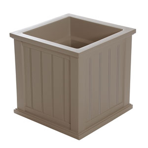 Cape Cod Clay Patio Planter 20 x 20 Inch