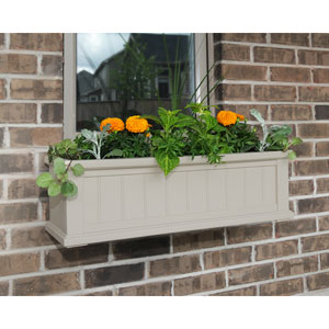 Cape Cod Clay Three-Foot Window Box