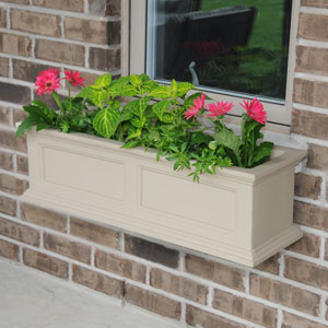 Fairfield Clay 36-Inch Window Box