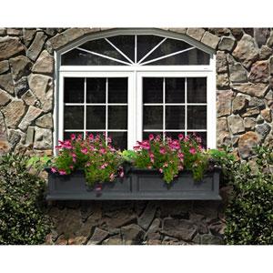 Fairfield Black 60-Inch Window Box