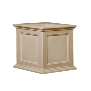 Fairfield 20x20 Clay Patio Planter