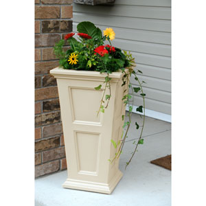 Fairfield Tall Clay Planter
