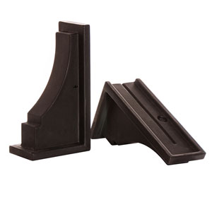Fairfield Decorative Brackets - Espresso (Includes 2)