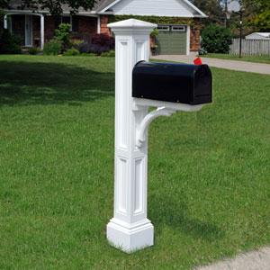 Charleston White Mail Post