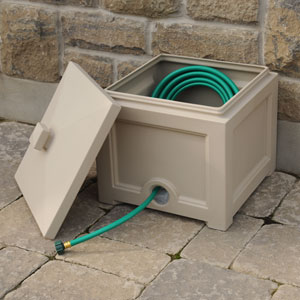 Fairfield Garden Hose Bin - Clay
