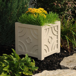 Savannah Patio Planter 16 X 16 Inch - Clay
