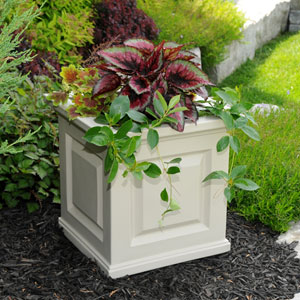 Nantucket Clay 16 x 16-Inch Outdoor Planter
