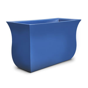 Valencia Long Planter - Neptune Blue