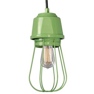 Retropolitan Aspen Green One-Light Outdoor Pendant
