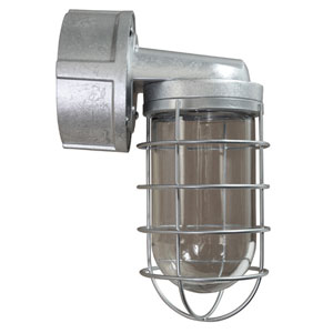 Retropolitan Galvanized 5.5-Inch Height One-Light Outdoor Wall Sconce