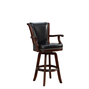 Napoli Suede Bar Stool