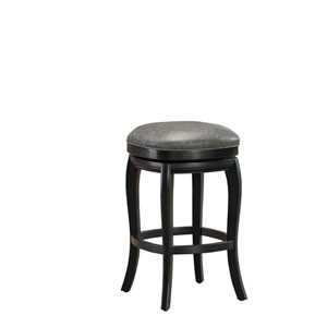 Madrid Black 30-Inch Bar Stool