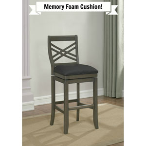 Mason Memory Foam Counter Height Stool