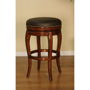 Santos Backless Cona Swivel Counter Height Stool