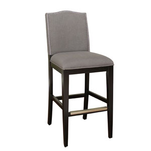 Chase Black and Smoke Counter Height Stool