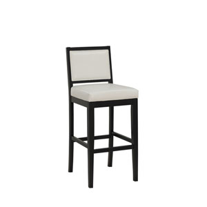 Fairmount Black Bar Height Stool