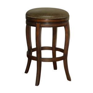 Wilmington Espresso Finish Bar Stool