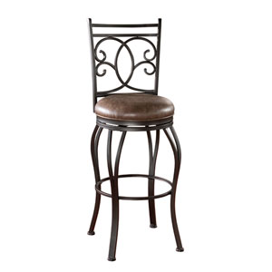 Nadia 30-Inch Bar Stool with Arms