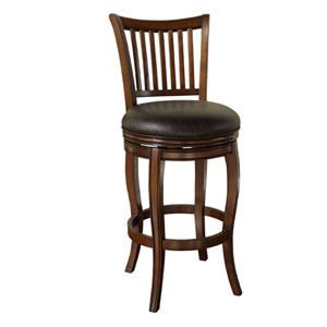 Maxwell Suede Finish Pub Height Stool
