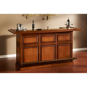 Kokomo Vintage Oak Bar