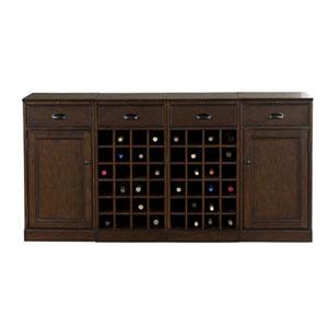 Natalia Navajo Modular Wine Cabinet, 4 Piece Set
