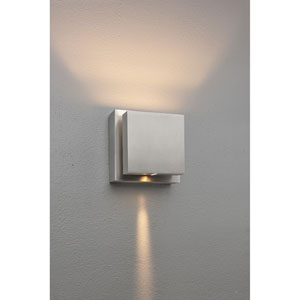 Scobo 2 Matte Chrome 5-Inch Wall Sconce