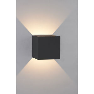 QB Anthracite 5-Inch Wall Sconce